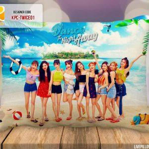Twice Pillow, Nayeon, Jeongyeon, Momo, Sana, Jihyo, Mina, Dahyun, Chaeyoung, Tzuyu