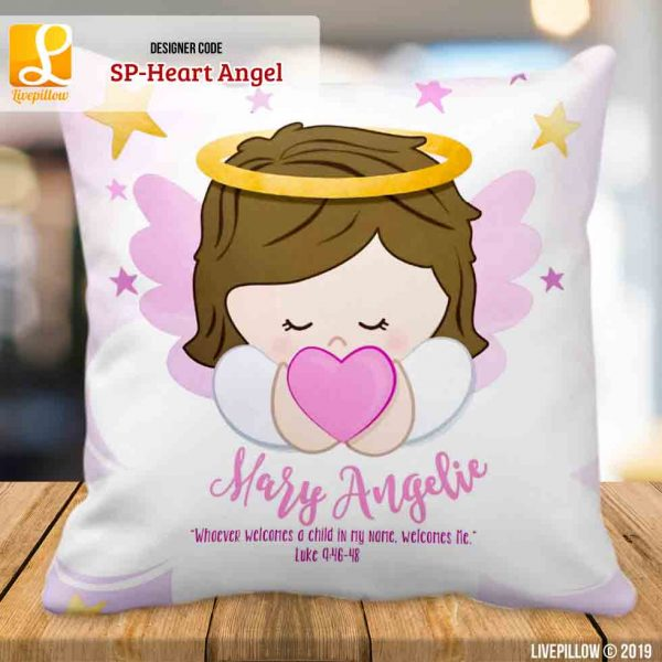 Angel Pillow Customized Souvenir