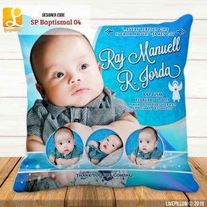 Baptismal Pillow Customized Souvenir