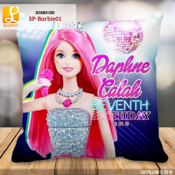 Barbie Pillow Customized Souvenir