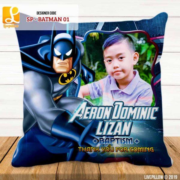 Batman Pillow Customized Souvenir