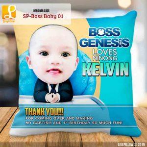 Boss Baby Pillow Customized Souvenir
