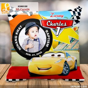 Cars Pillow Customized Souvenir
