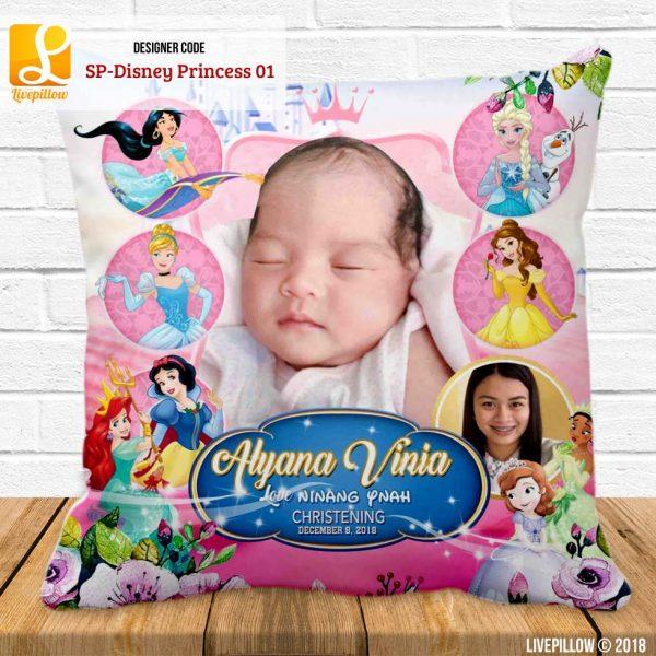 Disney Princess Pillow Customized Souvenir