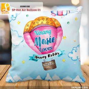 Hot Air Balloon Pillow Customized Souvenir