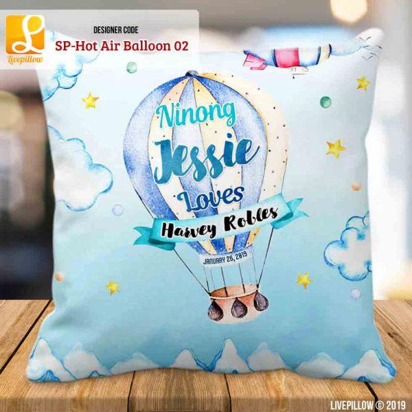 Hot Air Balloon Pillow Customized Souvenir