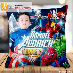 Avengers Pillow Customized Souvenir