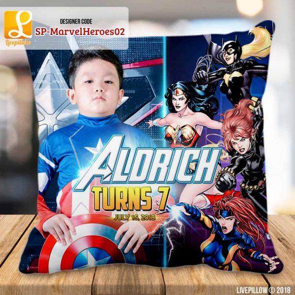 Avengers Pillow Customized Souvenir