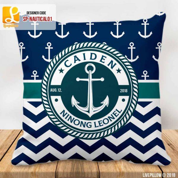Nautical Pillow Customized Souvenir