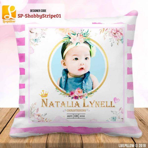 Shabby Chic Pillow Customized Souvenir
