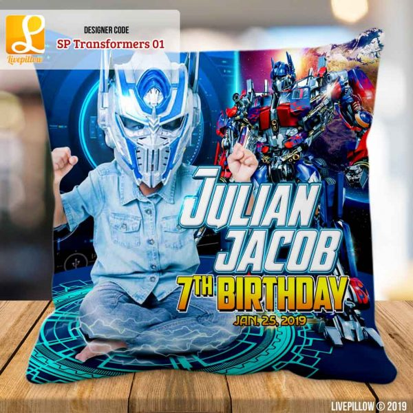 Transformers Pillow Customized Souvenir